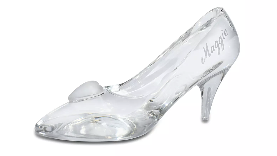 Gifts for Disney lovers: Arribas Cinderella glass slipper
