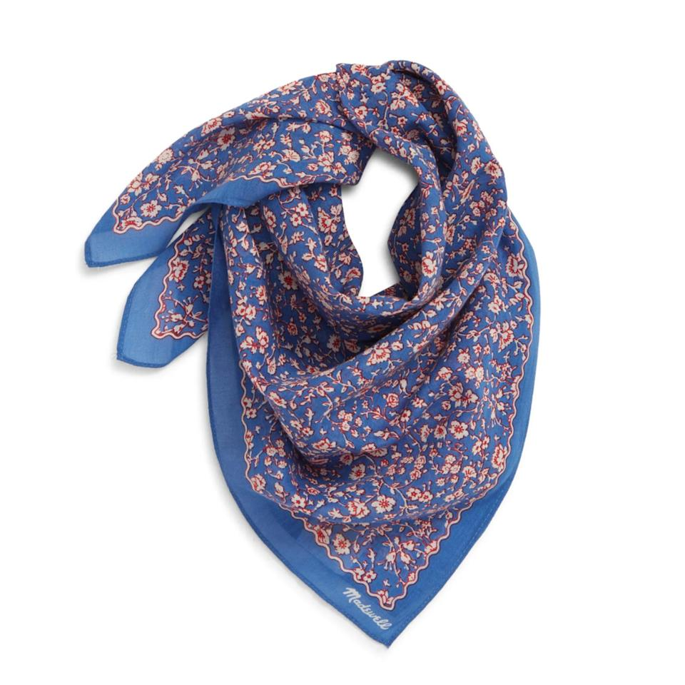 <p>The humble (yet adorable) bandana is the MVP of accessories right now. Chic as a hair accessory or tied around their neck, it doubles as a makeshift face covering without sacrificing personal style.</p>
