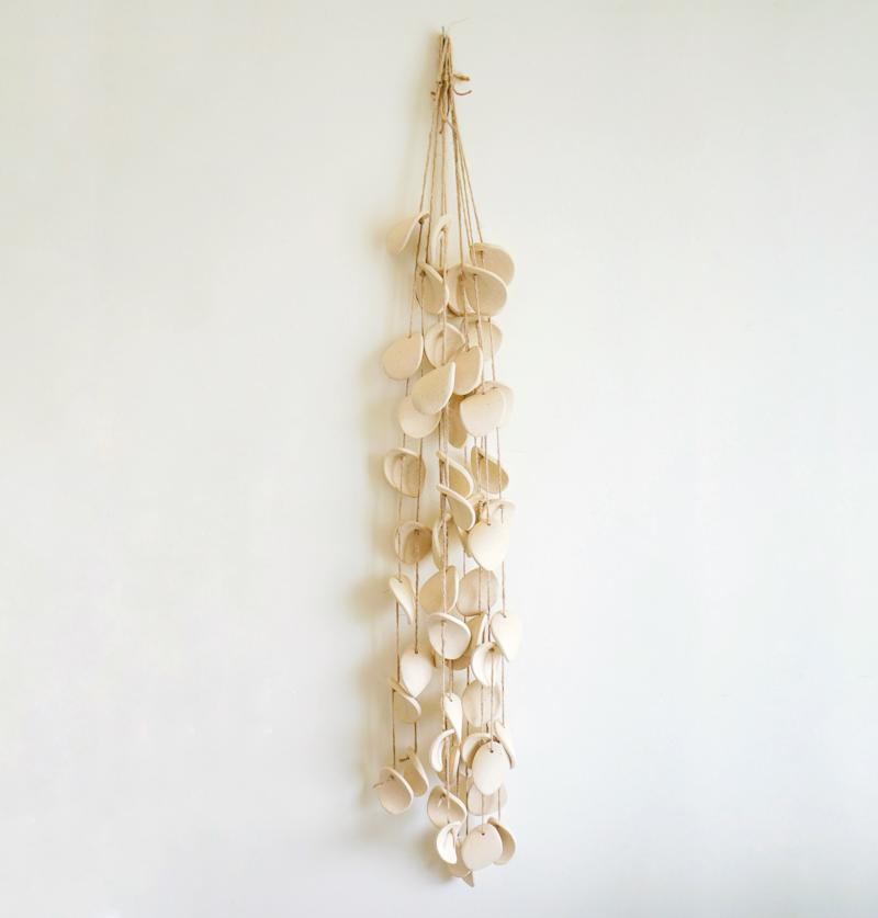 Ceramic Wind Chime. Image via Etsy.
