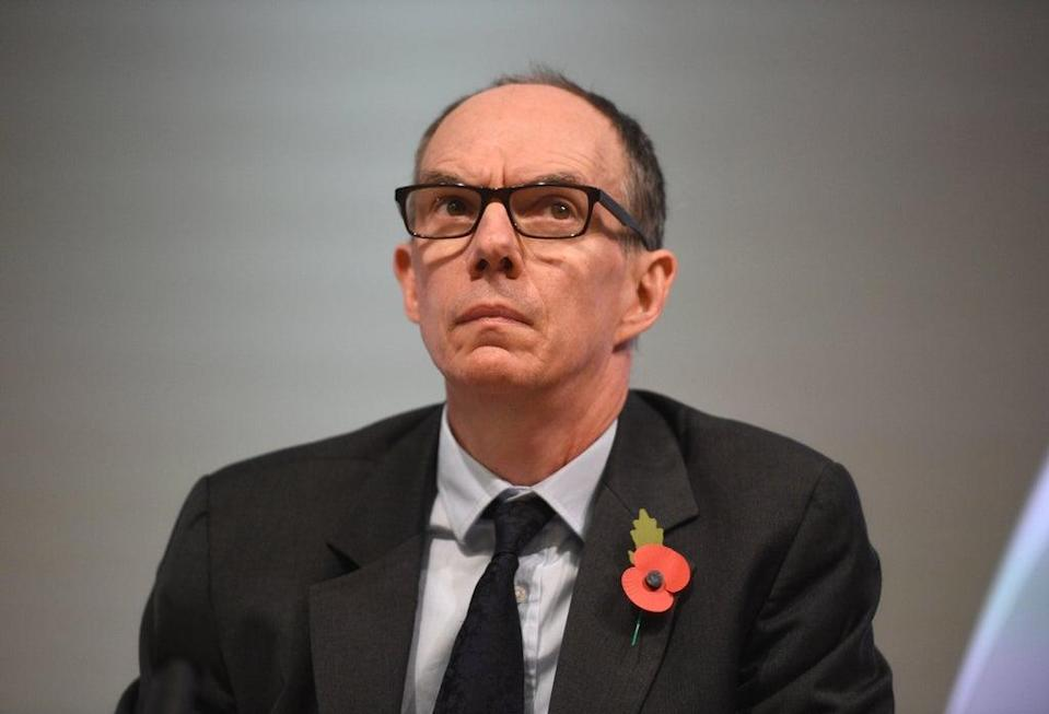Bank of England deputy Governor for Markets and Banking, Dave Ramsden (Kirsty O'Connor/PA) (PA Archive)