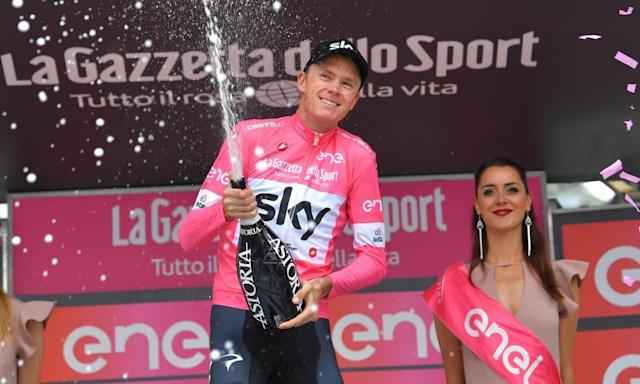 """<span class=""""element-image__caption"""">Chris Froome celebrates after stage 20.</span> <span class=""""element-image__credit"""">Photograph: Justin Setterfield/Getty Images</span>"""