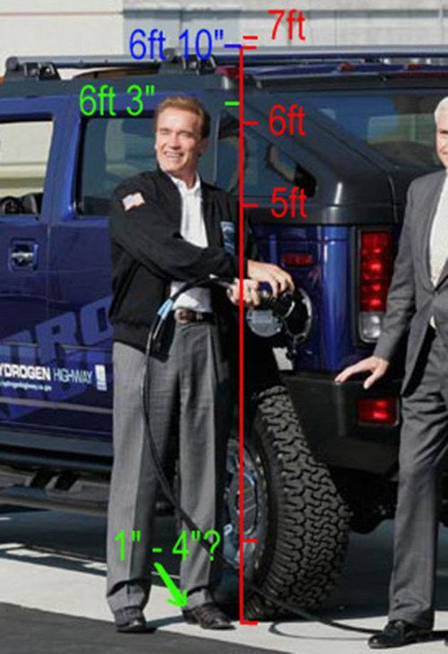 Has Arnold Schwarzenegger been lying about his height for ...