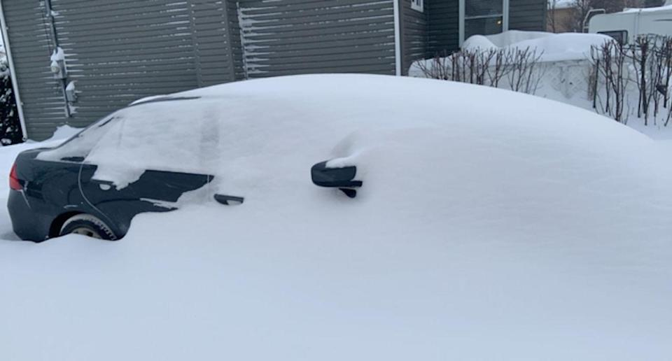 PHOTOS: Winter nightmare hits the Prairies, blizzard buries cars