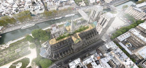 PHOTO: Architect Clement Willemin says the goal of his proposal for the Notre Dame design was, 'more to feed the debate than anything.' (BASE)