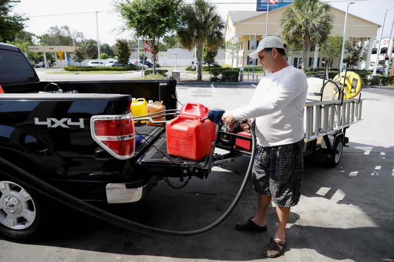 FILE PHOTO: Cyberattack crippled the biggest fuel pipeline in the country, run by Colonial Pipeline