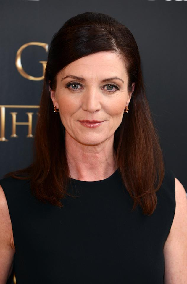 LONDON, UNITED KINGDOM - MARCH 26: Michelle Fairley attends the season launch of 'Game of Thrones' at One Marylebone on March 26, 2013 in London, England. (Photo by Karwai Tang/Getty Images)