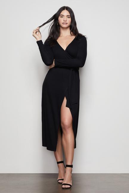 <p>This <span>DayNight Dress</span> ($129) will be the most flattering piece you own, we're sure of it.</p>