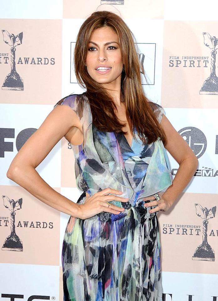 "March 5: Eva Mendes turns 37 Jeff Kravitz/<a href=""http://www.filmmagic.com/"" target=""new"">FilmMagic.com</a> - February 26, 2011"