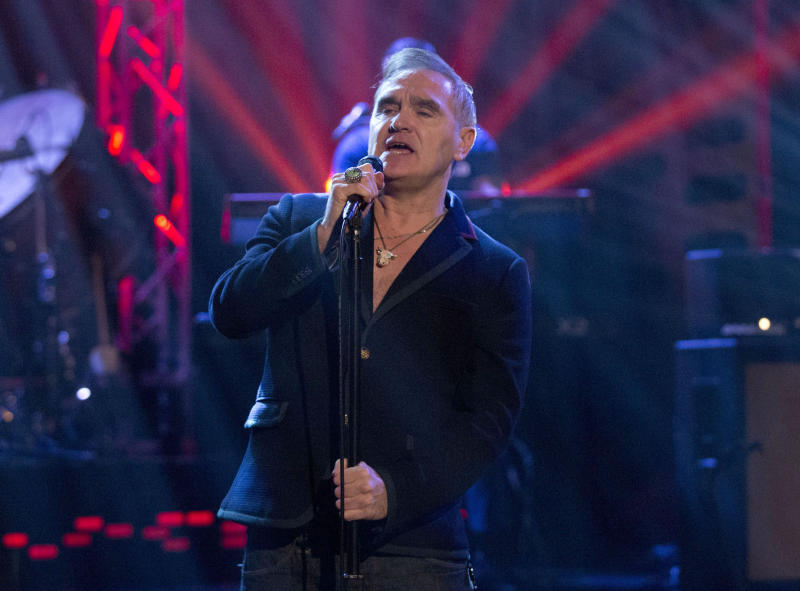 Morrissey: London Mayor Sadiq Khan 'cannot talk properly'