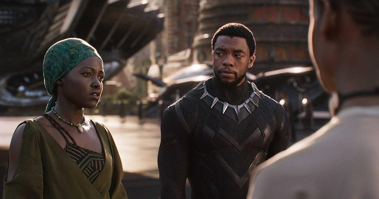 <p>Director: Ryan Coogler<br />Stars: Chadwick Boseman, Michael B. Jordan, Lupita Nyong'o <br />T'Challa, heir to the hidden but advanced kingdom of Wakanda, must step forward to lead his people into a new future and must confront a challenger from his country's past. </p>