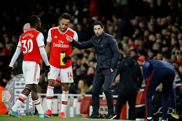 Training days - Arsenal manager Mikel Arteta's players will be allowed back to the club's London Colney training ground (AFP Photo/Tolga AKMEN)