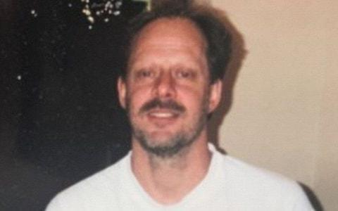 Picture shows Las Vegas shooter Stephen Paddock