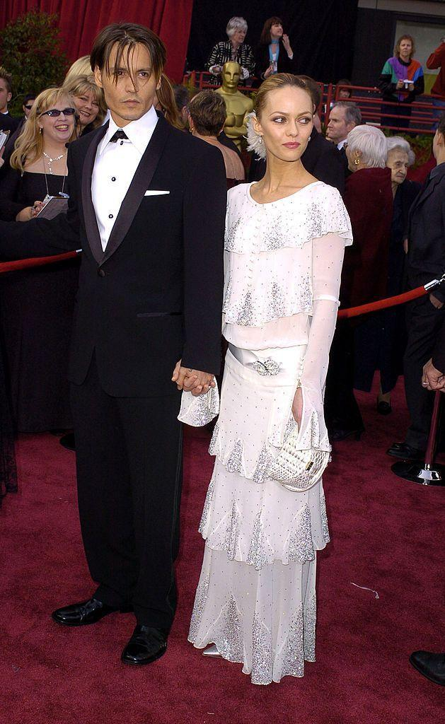 <p>The 'Joe Le Taxi' singer wore vintage Chanel to the Oscars that year. </p>