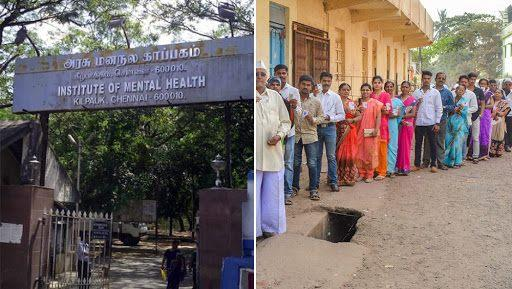 Mental Health Institute Inmates in Chennai Cast Votes in Phase 2 of Lok Sabha Elections 2019