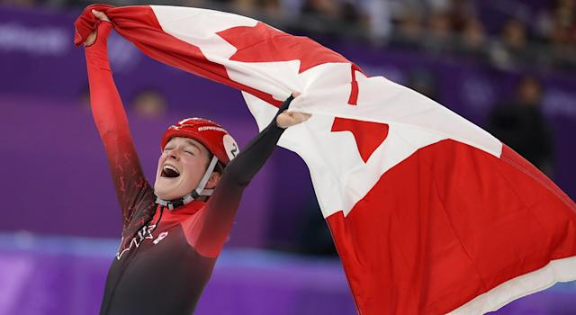 Kim Boutin will carry Canada's flag at the Closing Ceremony.