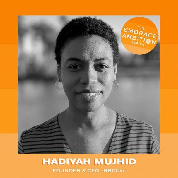PHOTO: Hadiyah Mujhid is the founder of the non-profit organization HBCUvc. (Tory Burch Foundation)