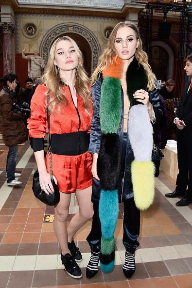 <p>Suki's younger sister Immy is the spitting image of her model sis and apparently also shares her awesome personal style. <i>[Photo: Getty]</i></p>