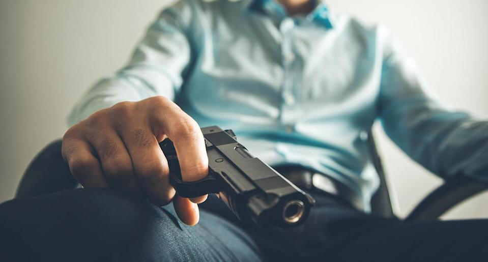 Reducing someone's risk of suicide can sometimes be a simple as preventing them from having easy access to firearms. (Photo: Getty Images)