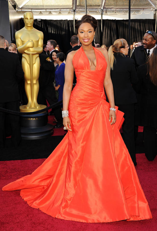 Jennifer Hudson arrives at the 83rd Academy Awards at the Kodak Theatre in Hollywood, CA.