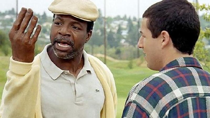 Chubbs Peterson lost his hand to an alligator in Happy Gilmore. Source: Youtube