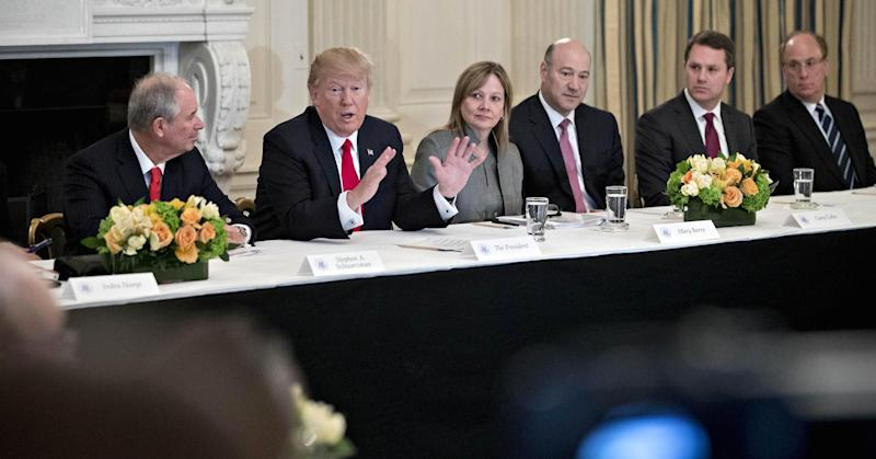 Mary Barra calls for 'unity and inclusion' after Trump disbands CEO forums