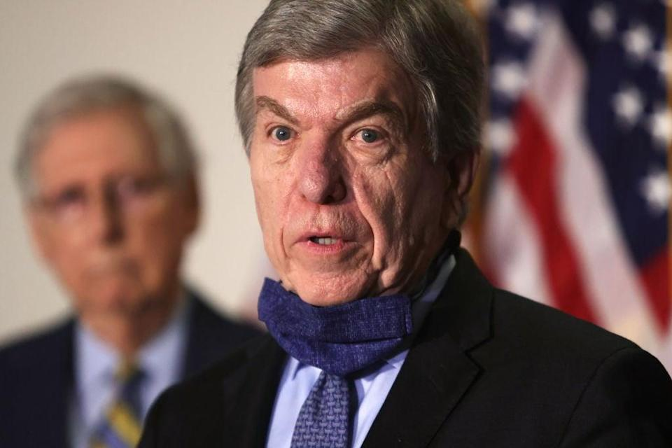 Missouri Republican Senator Roy Blunt has stopped short of calling Joe Biden president-elect. (Getty Images)
