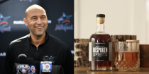 """<p>Derek Jeter invested in Bespoken Spirits, a California-based whiskey brand that prides itself on innovation. Founded by Stu Aaron and Martin Janousek, Bespoken Spirits uses technology that makes the liquor taste like it was aged to perfection, when really it required no aging in a barrel and was finished in three to five days. </p><p><a class=""""link rapid-noclick-resp"""" href=""""https://go.redirectingat.com?id=74968X1596630&url=https%3A%2F%2Fwww.totalwine.com%2Fspirits%2Fbourbon%2Fsmall-batch-bourbon%2Fbespoken-spirits-bourbon-whiskey%2Fp%2F230745375&sref=https%3A%2F%2Fwww.delish.com%2Ffood%2Fg32949671%2Fcelebrity-alcohol-brands%2F"""" rel=""""nofollow noopener"""" target=""""_blank"""" data-ylk=""""slk:BUY NOW"""">BUY NOW</a> <em><strong>$35, totalwine.com</strong></em></p>"""