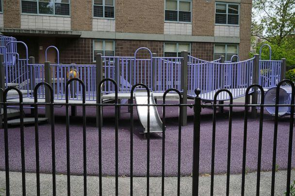PHOTO: A playground stands empty in East New York on May 19, 2020 in New York City. (Spencer Platt/Getty Images)
