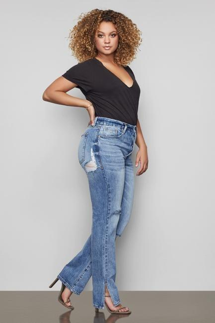 "<p>The hem on these <a href=""https://www.popsugar.com/buy/Good-American-Good-Boy-Jeans-585706?p_name=Good%20American%20Good%20Boy%20Jeans&retailer=goodamerican.com&pid=585706&price=179&evar1=fab%3Aus&evar9=45615413&evar98=https%3A%2F%2Fwww.popsugar.com%2Ffashion%2Fphoto-gallery%2F45615413%2Fimage%2F47583288%2FGood-American-Good-Boy-Jeans&list1=shopping%2Cdenim%2Cwinter%2Cwinter%20fashion&prop13=mobile&pdata=1"" class=""link rapid-noclick-resp"" rel=""nofollow noopener"" target=""_blank"" data-ylk=""slk:Good American Good Boy Jeans"">Good American Good Boy Jeans</a> ($179) is so cool.</p>"
