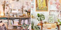 """<p><strong>Finally, permission to be a bit messy. Cluttercore is a new craze that embraces organised chaos, and encourages us to fill our homes with an abundance of mismatched but meaningful objects. </strong></p><p>While clutter has been around since the dawn of things, cluttercore has emerged from the broader <a href=""""https://www.housebeautiful.com/uk/lifestyle/a33575557/cottagecore/"""" rel=""""nofollow noopener"""" target=""""_blank"""" data-ylk=""""slk:cottagecore"""" class=""""link rapid-noclick-resp"""">cottagecore</a> trend, the ramshackle country pile aesthetic taking over social media for the past year. Cluttercore is more sentimental in expression, advocating for homely interiors that cocoon us in happy moments. </p><p>Cluttercore encourages us to find those objects that spark joy – much in the way that <a href=""""https://www.housebeautiful.com/uk/lifestyle/storage/a35199866/marie-kondo-organise-bathroom-wardrobe/"""" rel=""""nofollow noopener"""" target=""""_blank"""" data-ylk=""""slk:Marie Kondo"""" class=""""link rapid-noclick-resp"""">Marie Kondo</a> taught us to z– but then to put them all on display at once. Collecting the memories, the talking points, the treasured trinkets and just letting them be. </p><p>Cluttercore videos on TikTok have accrued more than 17 million views, showing rooms filled with plants, piles of well-read books, clothing draped nonchalantly, and vintage paraphernalia such as record players, vinyl, and collectibles. Objects are lovingly arranged, not discarded with a lack of care. </p><p>The result is a happy, lived-in mess that is the antithesis of the pristine white rooms and the near-unachievable levels of <a href=""""https://www.housebeautiful.com/uk/lifestyle/cleaning/a32876994/tiktok-home-hacks/"""" rel=""""nofollow noopener"""" target=""""_blank"""" data-ylk=""""slk:organisation"""" class=""""link rapid-noclick-resp"""">organisation</a> you see on Instagram. </p><p>While some people are more exuberant in their interpretation of cluttercore, mixing styles, and going heavy on <a href=""""https://www.housebeaut"""