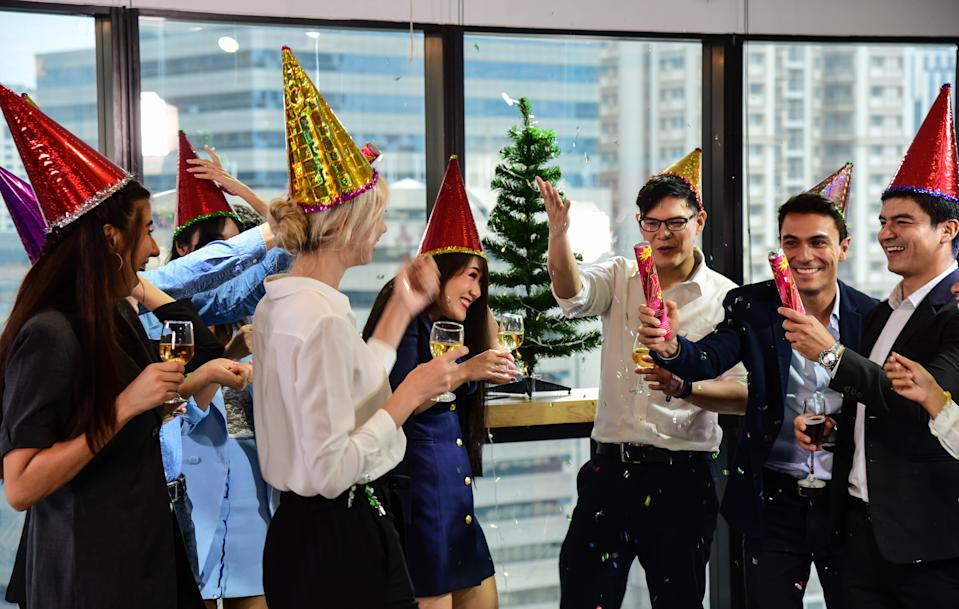 Most UK business will be doing something to reward their staff, with a virtual Christmas party, a physical gift and a bonus the top choices. Photo: Getty Images