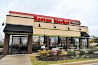 """<p>Nearly all Boston Market locations will be open on Thanksgiving Day, although menu selections and hours may vary. The chain will offer a traditional plated holiday meal for dine-in and carryout featuring sliced roasted turkey breast or half <a href=""""https://www.thedailymeal.com/cook/15-secrets-499-costco-rotisserie-chicken-slideshow?referrer=yahoo&category=beauty_food&include_utm=1&utm_medium=referral&utm_source=yahoo&utm_campaign=feed"""" rel=""""nofollow noopener"""" target=""""_blank"""" data-ylk=""""slk:signature rotisserie chicken"""" class=""""link rapid-noclick-resp"""">signature rotisserie chicken</a>, two sides, a dinner roll and a slice of apple or <a href=""""https://www.thedailymeal.com/recipes/spiced-pumpkin-pie-pepita-crust-recipe?referrer=yahoo&category=beauty_food&include_utm=1&utm_medium=referral&utm_source=yahoo&utm_campaign=feed"""" rel=""""nofollow noopener"""" target=""""_blank"""" data-ylk=""""slk:pumpkin pie"""" class=""""link rapid-noclick-resp"""">pumpkin pie</a> for $13.99. Family meals, whole pies, <a href=""""https://www.thedailymeal.com/cook/every-thanksgiving-side-dish-youll-ever-need-gallery?referrer=yahoo&category=beauty_food&include_utm=1&utm_medium=referral&utm_source=yahoo&utm_campaign=feed"""" rel=""""nofollow noopener"""" target=""""_blank"""" data-ylk=""""slk:hot side dishes"""" class=""""link rapid-noclick-resp"""">hot side dishes</a> and appetizers can also be picked up on Thanksgiving Day while supplies last.</p>"""