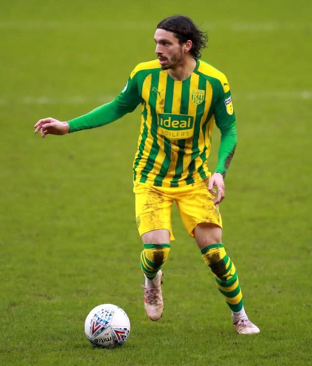 West Bromwich Albion are looking to sign Filip Krovinovic (Adan Davy/PA)