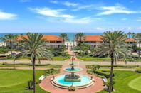 """<p>While some may argue that Florida shouldn't be considered """"the South,"""" there's simply nothing like the jewel-toned waters and white sand beaches of Northwest Florida and the chic and charming golf communities of the Northeast. Case in point: <a href=""""https://www.pontevedra.com/stay/inn-club"""" rel=""""nofollow noopener"""" target=""""_blank"""" data-ylk=""""slk:Ponte Vedra Inn & Club"""" class=""""link rapid-noclick-resp"""">Ponte Vedra Inn & Club</a>, which features the best of Floridian living with a generous dose of Southern hospitality, plus, an illustrious heritage of being a haven for Wall Street bankers and socialites alike for nearly 100 years.</p><p>All your recreation dreams come true at this resort, as its home to renowned tennis, golf, and outdoor recreation programming. There's also a highly curated array of boutiques and shops, along with 10 dining facilities. Plus, there is a spectacular spa and wellness program to help you rejuvenate for the next day's events. Many of its 262 rooms offer ocean views that allow you to walk right out to the beach for the ultimate source of restoration.</p>"""