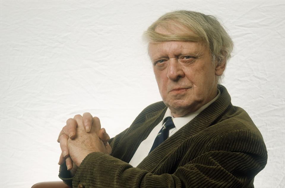 Paris, France - February 28, 1989: Anthony Burgess, English writer. (Photo by Ulf ANDERSEN/Gamma-Rapho via Getty Images)