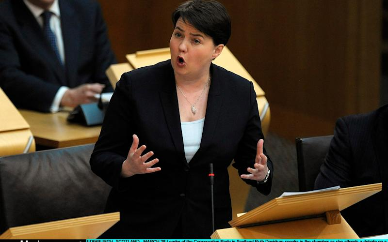 Ruth Davidson - Credit: Getty
