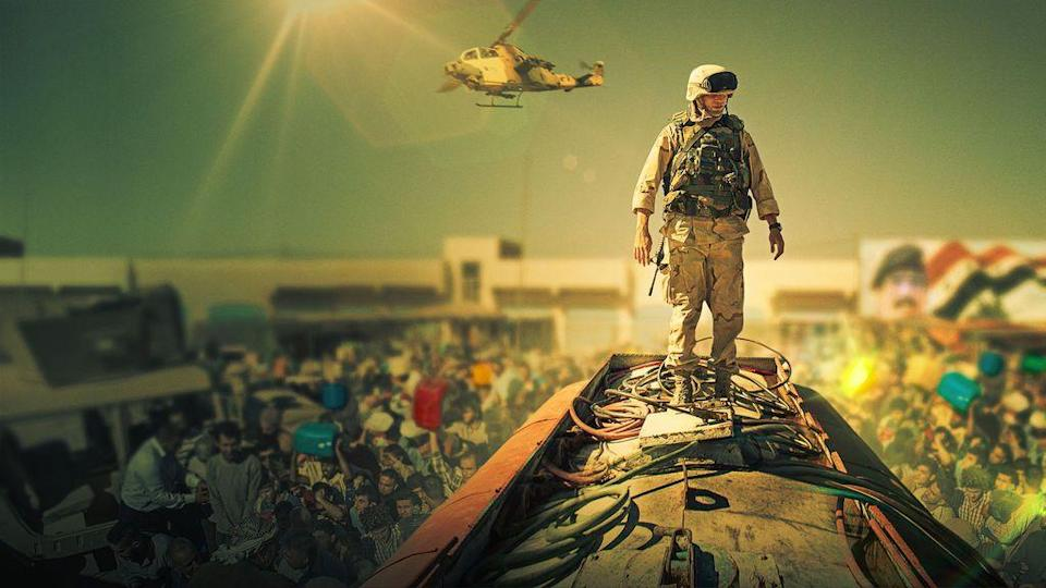 """<p>Nicholas Hoult plays a young private stationed in Iraq, who is less-than-enthusiastic about his role, and even more concerned when his platoon is assigned a dangerous mission. <a href=""""http://henrycavill.org/en/blog/articles/item/1520-screenwriter-chris-roessner-talks-henry-cavill-and-the-sand-castle-movie"""" rel=""""nofollow noopener"""" target=""""_blank"""" data-ylk=""""slk:Based on true events"""" class=""""link rapid-noclick-resp"""">Based on true events</a> witnessed by screenwriter Chris Roessner, this film focuses on the conflicts and triumphs that come from war. </p><p><a class=""""link rapid-noclick-resp"""" href=""""https://www.netflix.com/title/80118916"""" rel=""""nofollow noopener"""" target=""""_blank"""" data-ylk=""""slk:STREAM NOW"""">STREAM NOW</a></p>"""