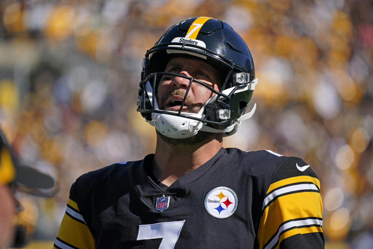 Ben Roethlisberger with the Steelers.