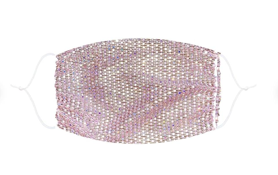 <p>Because we all need to be wearing them right now, give this <span>Sparkle Jewel Mesh Glitter Face Mask</span> ($16) to your friends.</p>