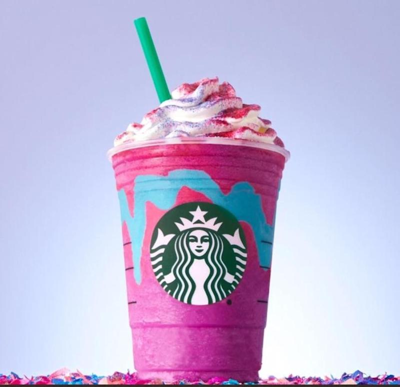 Unicorn Frappuccino in Singapore - Popspoken
