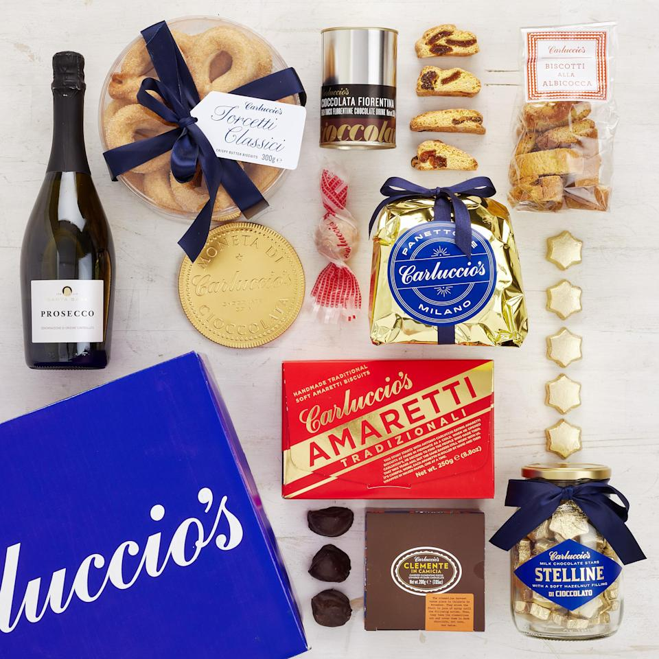 The Carluccio's Il Massimo hamper is sure to prove a hit this Christmas [Photo: Carluccio's]