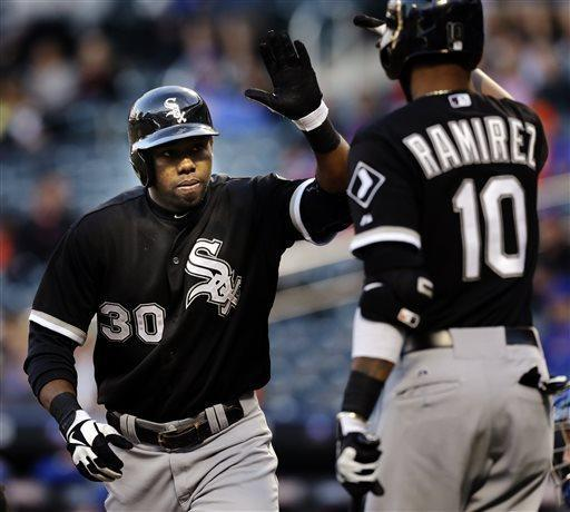 Peavy returns, pitches White Sox past Mets 6-3