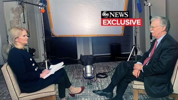 PHOTO: ABC's Martha Raddatz will have the first exclusive interview with John Bolton, former National Security Advisor to President Donald Trump, on his new book, 'The Room Where It Happened: A White House Memoir,' airing June 21, 2020 at 9pm ET on ABC. (ABC News)