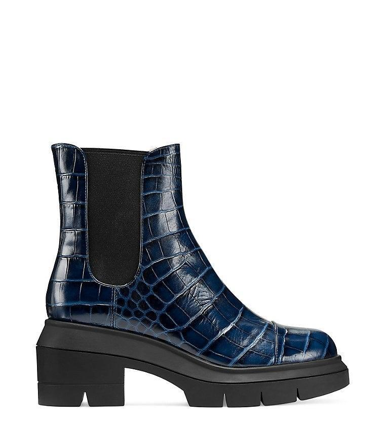 """<h2>Stuart Weitzman Norah Bootie</h2><br>""""I have been a fan of Stuart Weitzman shoes for a while. I especially love that they have wide widths, so I can comfortably rock any style. These are the ultimate bootie — like truly what shoe dreams are made of. I'd love the indigo embossed pair for a statement piece!"""" <em>– Chichi Offor, Affiliate Associate Writer</em><br><br><em>Shop <a href=""""http://www.stuartweitzman.com"""" rel=""""nofollow noopener"""" target=""""_blank"""" data-ylk=""""slk:Stuart Weitzman"""" class=""""link rapid-noclick-resp"""">Stuart Weitzman</a></em><br><br><strong>Stuart Weitzman</strong> Norah Bootie, $, available at <a href=""""https://go.skimresources.com/?id=30283X879131&url=https%3A%2F%2Fwww.stuartweitzman.com%2Fproducts%2Fnorah%2FS5232.html"""" rel=""""nofollow noopener"""" target=""""_blank"""" data-ylk=""""slk:Stuart Weitzman"""" class=""""link rapid-noclick-resp"""">Stuart Weitzman</a>"""