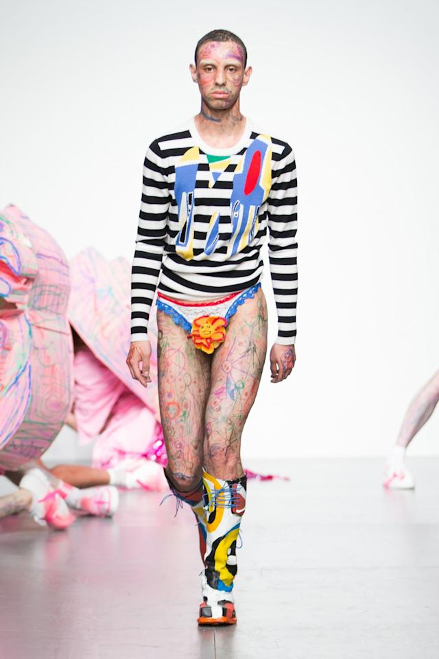 <p><i>[Photo: Charles Jeffrey]</i> </p>