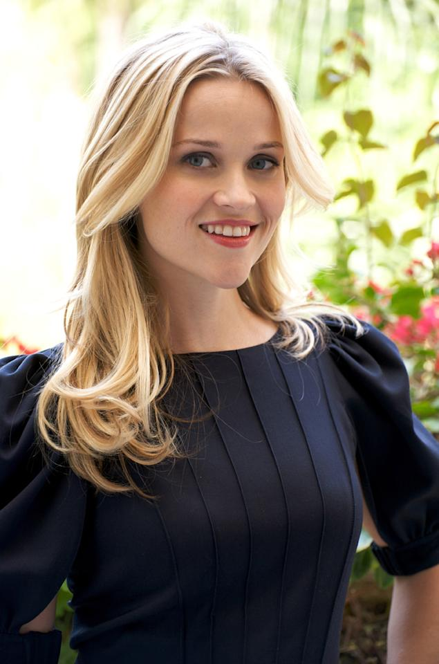 """<a href=""""http://movies.yahoo.com/movie/contributor/1800018812"""">Reese Witherspoon</a> at the at the """"Monsters Vs. Aliens"""" press conference at the Four Seasons Hotel - 03/23/2009"""