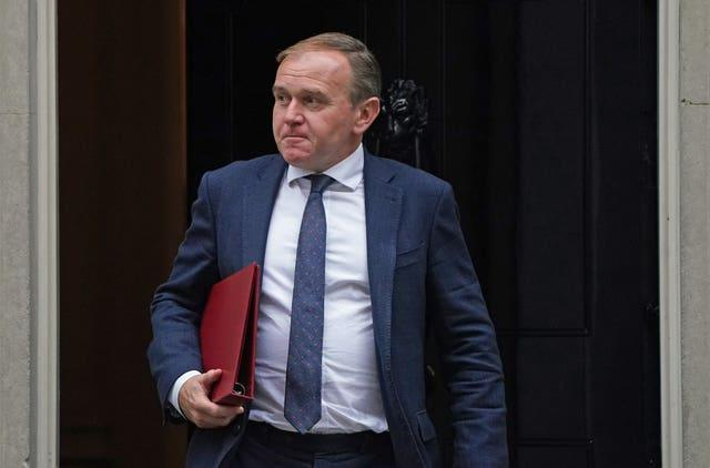 Environment Secretary George Eustice said ministers would be reviewing the current travel rules