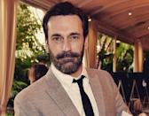 <p>Don Draper opts for a clean shave, but Jon Hamm sure can pull off a handsome beard. (Photo: Instagram)</p>