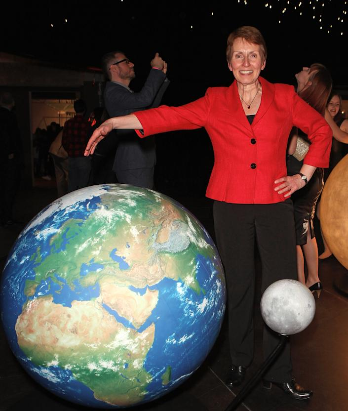 LONDON, ENGLAND - OCTOBER 11: Helen Sharman attends the opening of the Science Museum's new interactive gallery 'Wonderlab' on October 11, 2016 in London, England. (Photo by David M. Benett/Dave Benett/Getty Images)