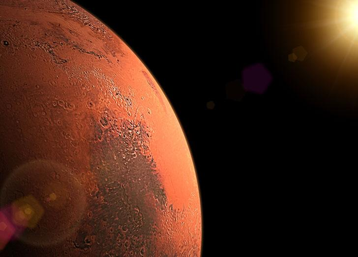 Scientists recreate Mars sunrise with musical piece